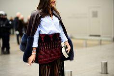 Paris Haute Couture Spring 2015 Street Style -