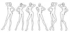 Free Fashion Croquis 06 You can use this Croquis/Base.Croquis are free to use as long as. Fashion Illustration Template, Fashion Sketch Template, Fashion Figure Templates, Fashion Design Template, Design Templates, Fashion Model Drawing, Fashion Figure Drawing, Fashion Design Drawings, Fashion Sketches