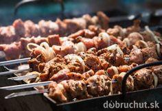 Hovädzí pikantný kebab