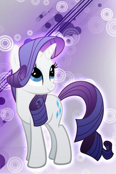 Ponyville's number one glamor pony and dress maker....................................................... RARITY