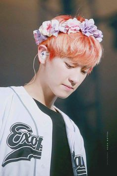 Chanyeol - 160729 Exoplanet - The EXO'rDium in Seoul Credit: Yellow Moon… Baekhyun, Park Chanyeol Exo, Park Bogum, Kim Minseok, Exo Members, Flower Boys, Korean Music, Kris Wu, Yixing