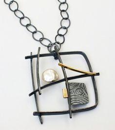 NK-87- Graffiti necklace by Sydney Lynch