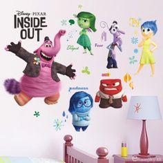 Nálepky na stenu - V hlave/Inside out