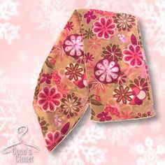Fun retro scarf This scarf can be worn in a variety of ways; around the neck, on the waist as a belt, or in the hair. Cute retro pattern in a lovely mix of colors and patterns. PRICE FIRM on all items marked $15 and below. Old Navy Accessories Scarves & Wraps