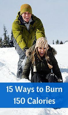 15 Ways to Burn 150 Calories