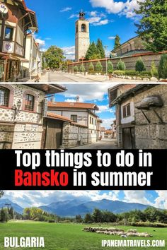 Top things to do in Bansko (Bulgaria) - the only Bansko Summer Travel Guide you need when visitng Bansko in the summer. Includes information about the best places to visit in Bansko, museums in Bansko, Pirin National Park, best foot to eat in Bansko and best places to stau in Bansko. #bansko #bulgaria #travel #banskosummer #travelbulgaria #visitbansko Bansko Bulgaria, Europe Bucket List, Places In Europe, European Destination, Most Beautiful Cities, Ultimate Travel, Summer Travel, Day Trip, Cool Places To Visit