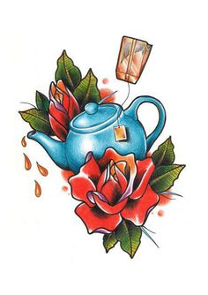 I see a tea inspired tattoo in my near future.