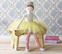 Libby : $49.00 Designer Doll Butterfly Ballerina | Pottery Barn Kids