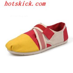 08U286 Red Womens Canvas #2013 #Toms #Shoes