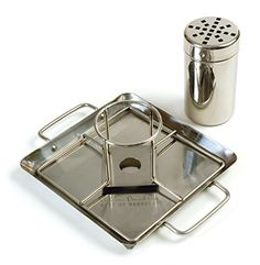 Charcoal Companion Steven Raichlen Stainless Beer Can Chicken Roaster with Drip Pan Best Beer Can Chicken, Smoked Chicken, Canned Chicken, Barbecue Chicken, Smoked Pork, Cheesy Chicken, Roasted Chicken, Stainless Steel Canisters, Stainless Steel Pans