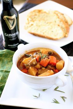 No-Meat Guinness Stew | The Curvy Carrot No-Meat Guinness Stew | Healthy and Indulgent Meals Dangling in Front of You
