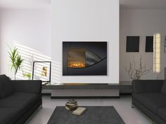wrap around shelf Electric Fires, Room, Home Decor, Google, Image, Ideas, Modern Fireplaces, Dining Room, Trendy Tree