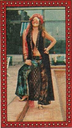 Janis Joplin in Rio de Janeiro, 1970