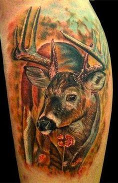 #deer #tattoo #deertattoo