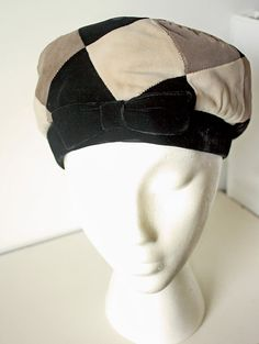 Vintage 1960s Mr John Jr Velour Cloche  by VarietyVintagebyALD, $28.50