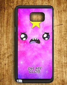 Lumpy Space Princess Oh My Glob Samsung Galaxy Note 5 Case