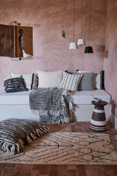 vosgesparis: Warm Moroccan style and natural colours for your home