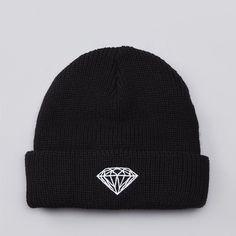 Flatspot - Diamond Brilliant Fold Beanie Black