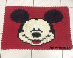 Tapete Croche Mickey