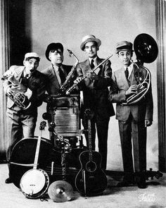The Hoosier Hot Shots, the great old band that inspired Spike Jones.
