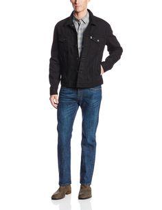 Levi's Men's Relaxed Denim Trucker Jacket at Amazon Men's Clothing store: Denim Jackets