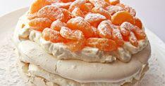 Ital Food, Meringue Pavlova, Sweet Recipes, Mousse, Panna Cotta, Waffles, Deserts, Paleo, Lemon