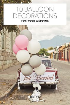 Balloon Decorations for Weddings