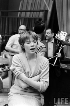 Wrapped in the music... - Shirley MacLaine