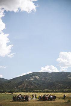Erica & Todd. Hutchinson Ranch, Salida, CO. Mountain vistas. Wedding planning. Yellow Feather Photography.