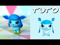 TUTO FIMO | Givrali / Glaceon (de Pokémon Rumble World)