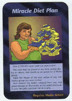 Illuminati Card Game -Miracle Diet Plan