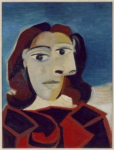 Dora Maar by Pablo Picasso | Picasso, Pablo (Pablo Ruiz Picasso): Portrait de Dora Maar (Retrato de ...