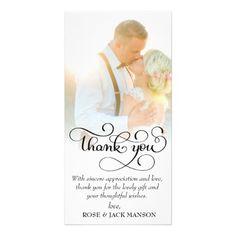 #lovely script wedding thank you card - #GroomGifts #Groom #Gifts Groom Gifts #Wedding #Groomideas Wedding Thank You Cards, Love Cards, Bridal Gifts, Thank You Gifts, Script, Groom Gifts, Templates, Bride, Card Ideas