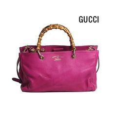 Bolsa #Gucci Bamboo pink maravilhosa agora disponível no site!! 💖😍💖 #NewIn…