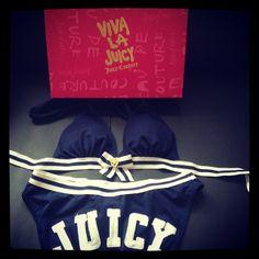 Juicy Couture bikini.