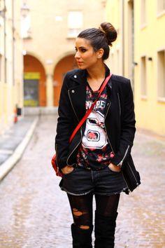 La blogger Gloria (la borsa di marrypoppins) indossa una maglietta KIABI cd0b55c712b