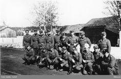 Swedish volunteers in Finland during WW2