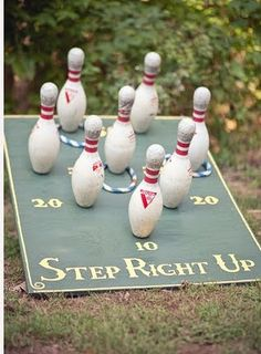 Trendy wedding games for reception ring toss ideas Reception Games, Wedding Games, Reception Decorations, Wedding Planning, Carnival Themes, Circus Theme, Circus Party, Carnival Diy, School Carnival