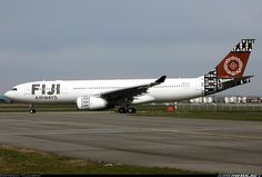 Fiji Airwasy (March 16, 2013) Airbus A330-243 / DQ-FJT