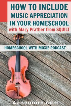 Mary Prather of SQUILT Music chats about how to include music appreciation in your homeschool. It's more simple than you think! Masters Degree In Education, Music Education, Homeschool Curriculum Reviews, Homeschooling, Georgia State University, Music Activities, Composers, Teaching Music, Music Lessons