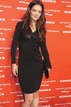 Katie Holmes at the Narciso Rodriguez and Kohl's launch