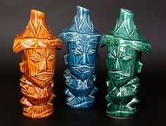 Tiki Farm Mugs