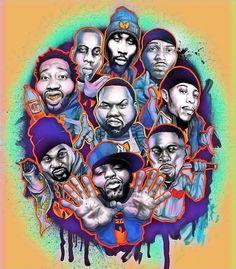 Dope Cartoons, Dope Cartoon Art, Arte Hip Hop, Hip Hop Art, Wu Tang Clan, Street Graffiti, Graffiti Art, Street Art, Disney Drawing Tutorial