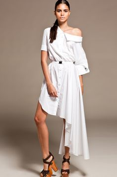 the ultimate shirt dress.  viktor & rolf.