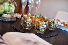 Greek Salad à la Verrine #appetizers #salad #greek