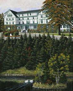 """""""Glynmill Inn"""" by EJ Wareham Newfoundland Canada, Newfoundland And Labrador, O Canada, Canada Travel, East Coast Travel, Atlantic Canada, Prince Edward Island, New Brunswick, Canadian Artists"""