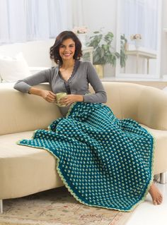 http://www.favecrafts.com/Crochet-Afghans/Roman-Inspired-Throw-from-Red-Heart-Yarn/ct/1