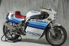 Images of Suzuki Endurance Racing Team bikes from 1980 to This image gallery includes the 1980 the 1985 and the 2001 and other Suzuki World Endurance Championship-winning machines. Suzuki Gsx 750, Suzuki Bikes, Suzuki Motorcycle, Street Motorcycles, Vintage Motorcycles, Racing Team, Road Racing, Gsxr 1100, Bike Bmw