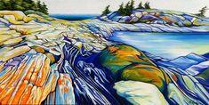 Margarethe Vanderpas - Fine Artist - Eastern Shores of Georgian Bay Canadian Painters, Canadian Artists, Landscape Art, Landscape Paintings, Landscapes, University Of Western Ontario, Art Pictures, Art Pics, Artist Art
