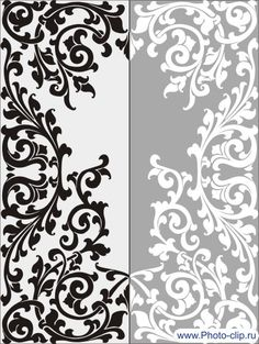 Swirlly and curly Stencil Patterns, Stencil Designs, Arabesque, Gothic Drawings, Stencils, Embroidery Motifs, Islamic Art, Wood Carving, Metal Art